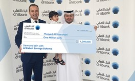 Ahlibank Announces Q1 Millionaire  Al Rabeh Savings Scheme Prize Draw Winner