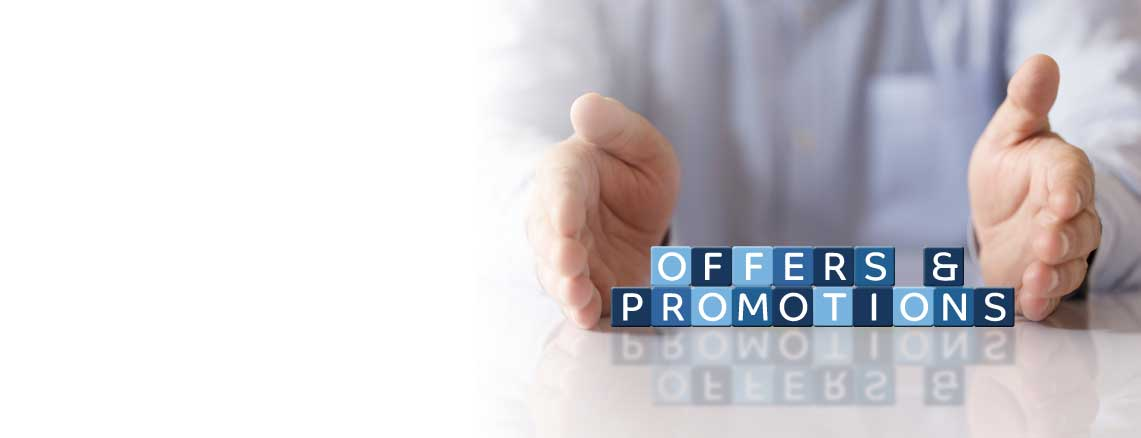 Offers and Promotions