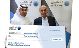 Ahlibank Announces Al Rabeh Savings Scheme Q3 2016 Millionaire Prize Draw Winner