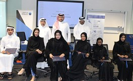 "Graduates successfully complete the second ""Ahlibank Kawader"" programme"