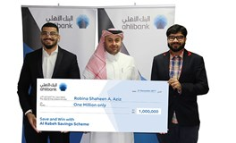 Ahlibank Announces Al Rabeh Savings Scheme Q4 2017 Millionaire Prize Draw Winner