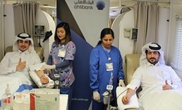 Ahlibank holds blood donation drive in partnership with HMC