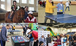 Ahlibank celebrates Qatar National Sport Day with Employees and Families.