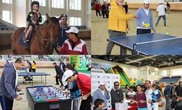 احتفل البنك الأهلي باليوم الرياضي للدولة مع الموظفين وأسرهم